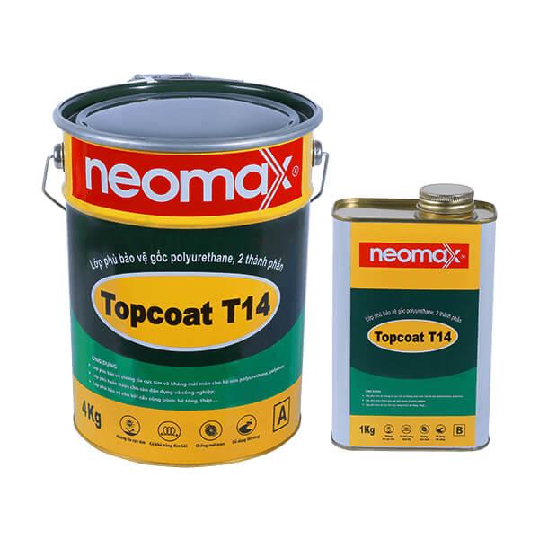 Dòng sơn neomax Topcoat T14 chuyên dụng chống thấm sân thượng bảo vệ tối ưu tránh mói tác nhân bên ngoài đến công trình