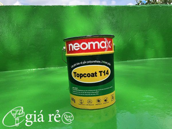 sản phẩm chống thấm neomax topcoat T14
