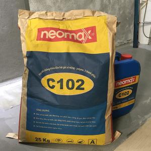 Neomax C102 là hợp chất chống thấm gốc xi măng, polymer 2 thành phần