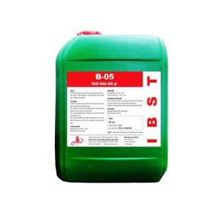 hóa chất chống gỉ sét B05 mới nhất