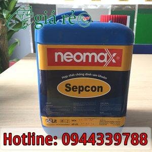 Hợp chất chống dính Neomax Sepcon có khả năng chống dính ván khuôn tối ưu, dễ dàng tách ván khuôn ra khỏi bê tông