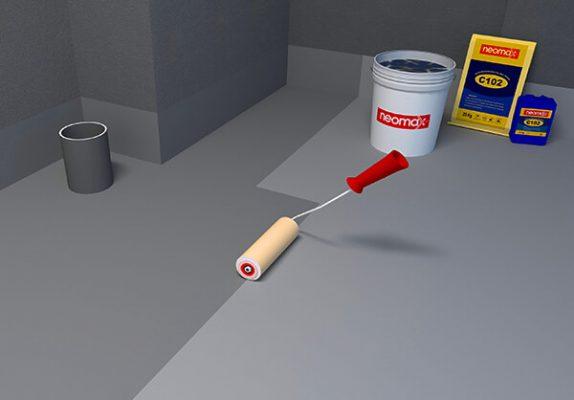 hợp chất chống thấm gốc xi măng neomax C102