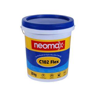 Neomax C102 Flex là hơp chất chống thấm đàn hồi gốc xi măng – polyme, 2 thành phần