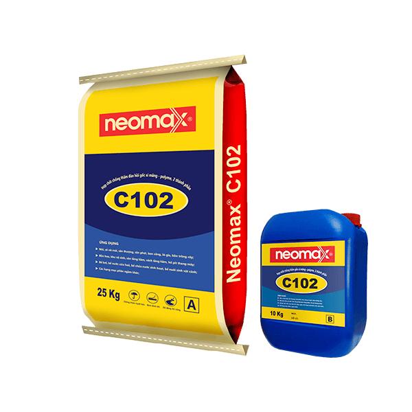 chống thấm gốc xi măng neomax C102