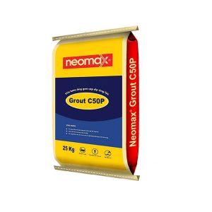 Neomax Grout C50P là loại vữa rót trộn sẵn gốc xi măng khả năng chống thấm và chống ăn mòn cao