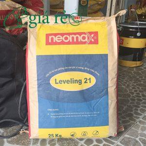 Vữa Neomax Leveling 21 là loại vữa tự san phăng cho sàn gốc xi măng có khả năng đông cứng nhanh