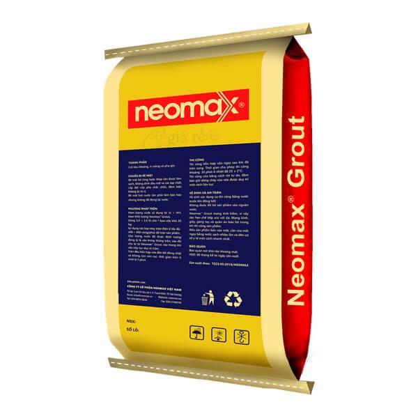 Vữa rót tự chảy không co ngót Neomax Grout C60