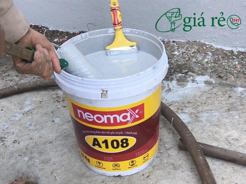 Chống thấm tường Neomax A108 hiệu quả
