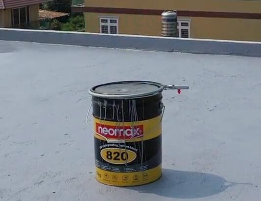 Chống thấm sân thượng bằng Neomax 820