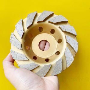 Đĩa đá mài sàn bê tông smart tool 150mm