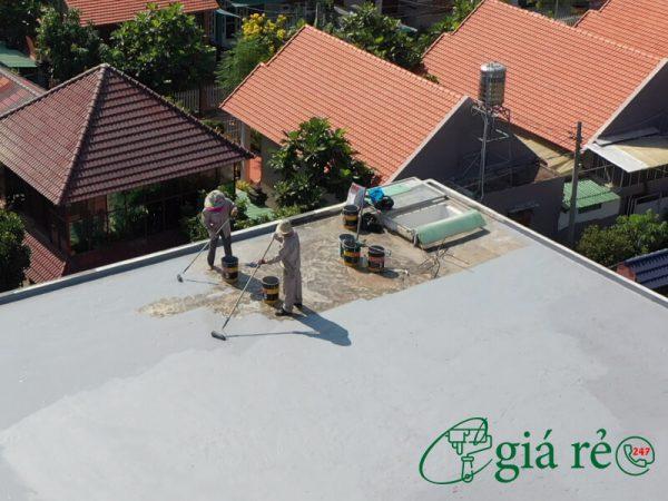 Quy trình thi công chống thấm sàn mái Neomax 820
