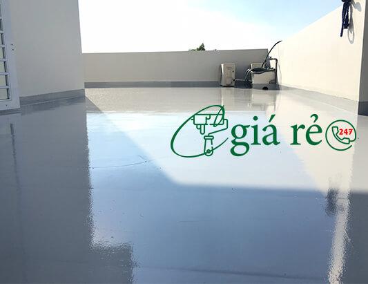 Quy trình thi công chống thấm sàn mái