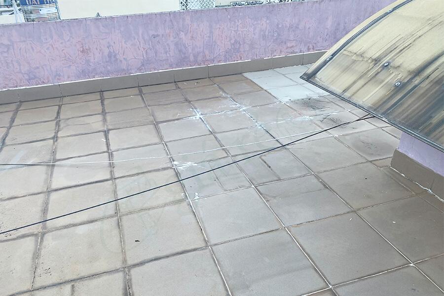 Cách chống thấm sân thượng đã ốp gạch hiệu quả