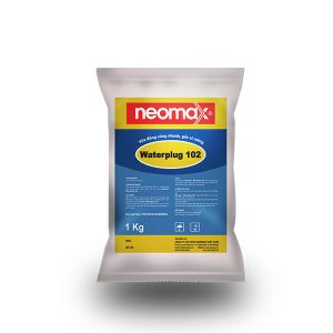 vữa trộn đông cứng nhanh neomax waterplug 102 giá rẻ
