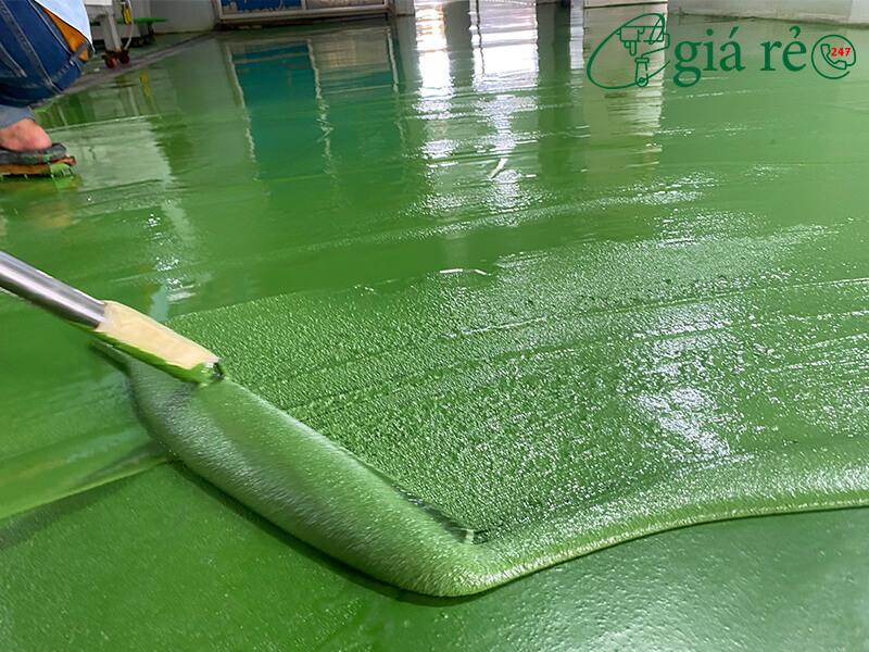 Cách thi công vật liệu phủ sàn Neomax Ucem F1