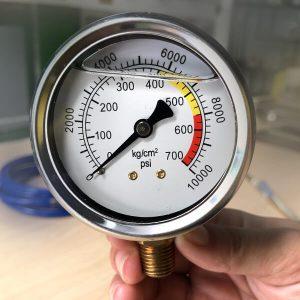 đồng hồ đo áp máy bơm keo PUhay epoxy chất lượng cao giá rẻ