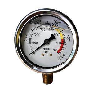 Đồng hôf đo áp máy bơm keo PU- Epoxy