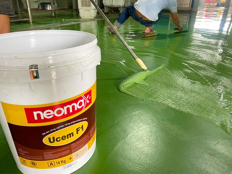 Lớp phủ sàn bê tông công nghiệp nặng Neomax Ucem F1