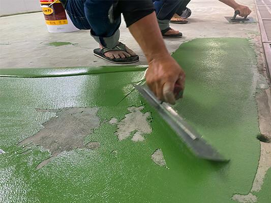 Nên sử dụng vật liệu phủ sàn Polyurethane nào