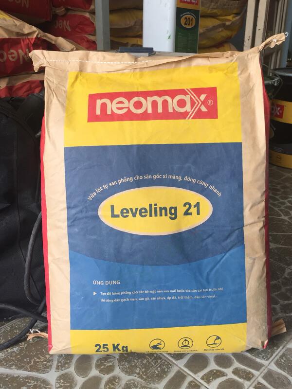 Vữa sàn Neomax Leveling 21
