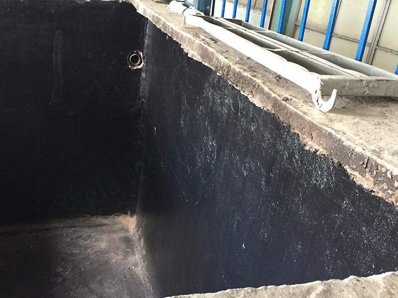 Hướng dẫn chống thấm hồ cá koi màu đen Neomax 826